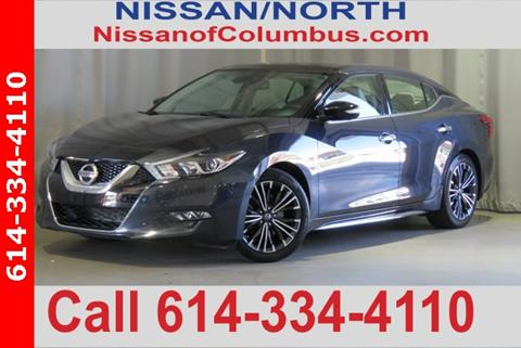 Nissan Columbus Ohio >> 2016 Nissan Maxima For Sale In Columbus Oh