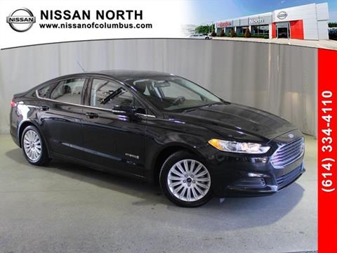 2015 Ford Fusion Hybrid for sale in Columbus, OH