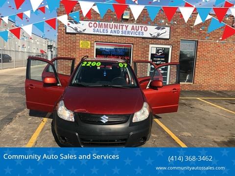 Suzuki SX4 Crossover For Sale in Milwaukee, WI - Community Auto