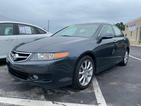 2007 Acura TSX for sale in Bushnell, FL