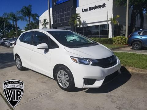 2017 Honda Fit for sale in Coconut Creek, FL