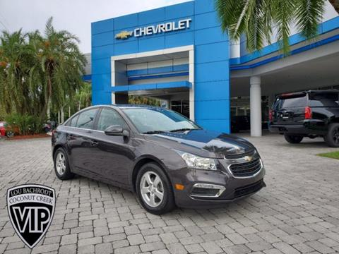 2016 Chevrolet Cruze Limited for sale in Coconut Creek, FL