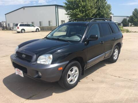 2003 Hyundai Santa Fe for sale at More 4 Less Auto in Sioux Falls SD