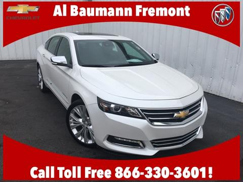 2017 Chevrolet Impala for sale in Fremont, OH