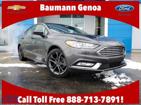 2018 Ford Fusion SE for sale at Baumann Auto Group in Fremont OH