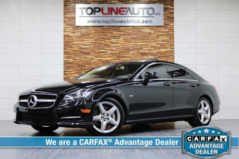 2012 Mercedes-Benz CLS for sale in Dallas, TX