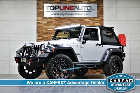 2011 Jeep Wrangler for sale in Dallas, TX