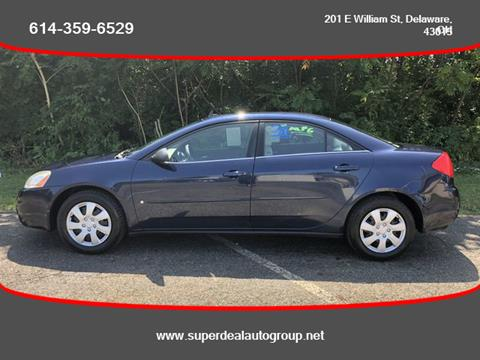 2009 Pontiac G6 for sale in Delaware, OH