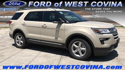 2018 Ford Explorer for sale in West Covina, CA