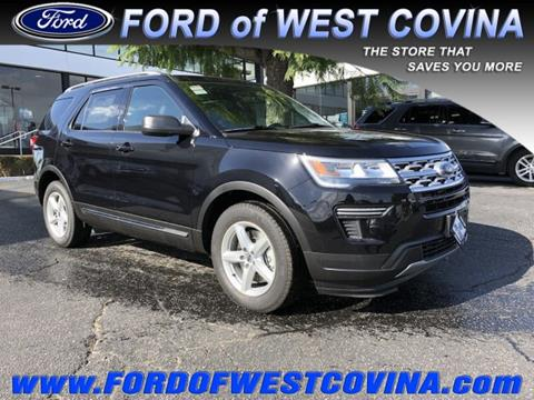 2019 Ford Explorer for sale in West Covina, CA