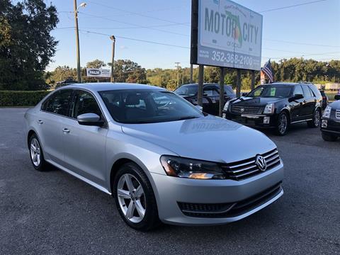 2013 Volkswagen Passat for sale in Ocala, FL