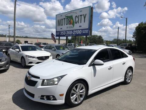 2012 Chevrolet Cruze LTZ for sale at Motor City Of Ocala in Ocala FL