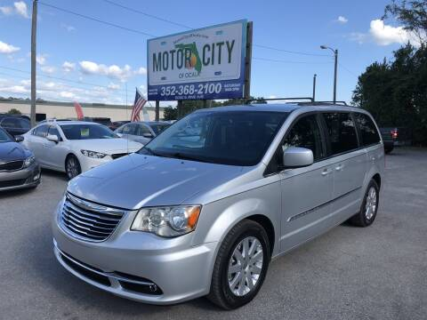 2012 Chrysler Town and Country Touring for sale at Motor City Of Ocala in Ocala FL