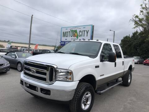 2003 Ford F-250 Super Duty for sale at Motor City Of Ocala in Ocala FL