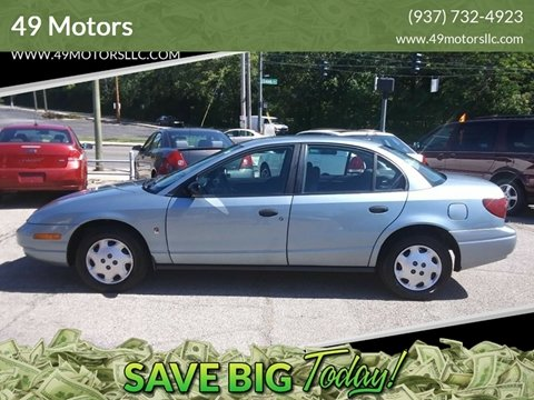 2002 Saturn S-Series for sale in Dayton, OH