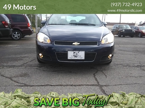 2008 Chevrolet Impala for sale in Dayton, OH