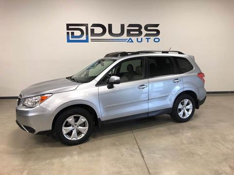 2014 Subaru Forester for sale at DUBS AUTO LLC in Clearfield UT