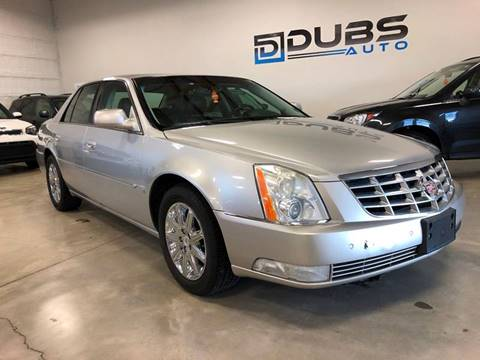 2008 Cadillac DTS for sale at DUBS AUTO LLC in Clearfield UT