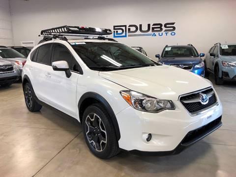 2015 Subaru XV Crosstrek for sale at DUBS AUTO LLC in Clearfield UT