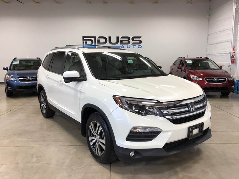 2016 Honda Pilot for sale at DUBS AUTO LLC in Clearfield UT