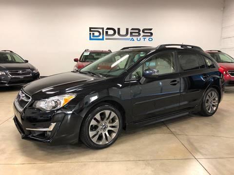 2015 Subaru Impreza for sale in Clearfield, UT