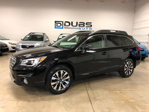 2017 Subaru Outback for sale at DUBS AUTO LLC in Clearfield UT
