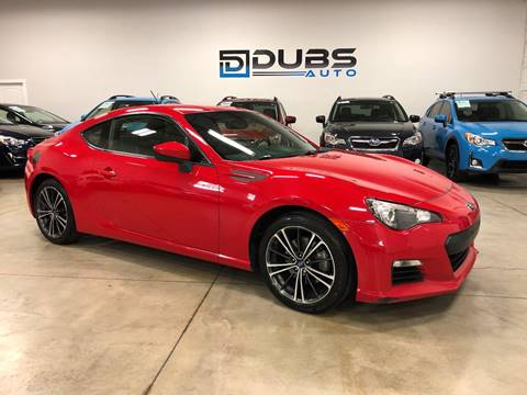2013 Subaru BRZ for sale at DUBS AUTO LLC in Clearfield UT
