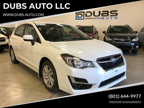 2015 Sti For Sale >> Subaru For Sale In Clearfield Ut Dubs Auto Llc