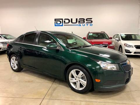 2014 Chevrolet Cruze for sale at DUBS AUTO LLC in Clearfield UT