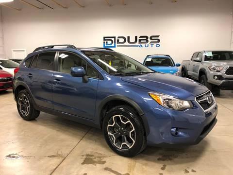 2013 Subaru XV Crosstrek for sale at DUBS AUTO LLC in Clearfield UT