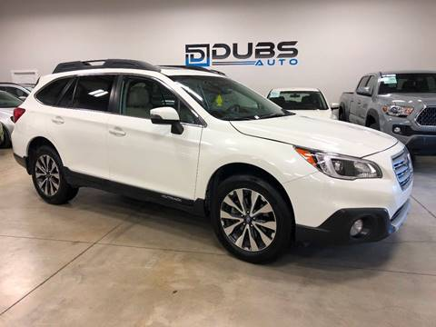 2015 Subaru Outback For Sale >> Subaru For Sale In Clearfield Ut Dubs Auto Llc