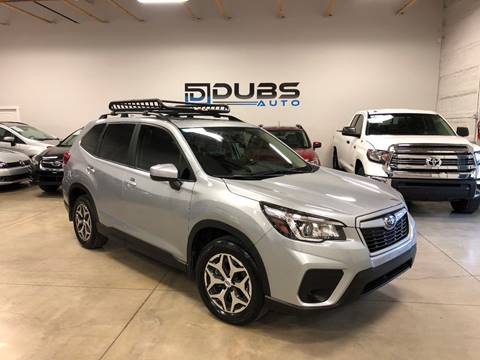 2019 Subaru Forester for sale at DUBS AUTO LLC in Clearfield UT
