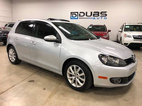 2012 Volkswagen Golf for sale at DUBS AUTO LLC in Clearfield UT