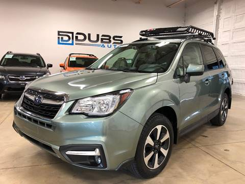 2018 Subaru Forester for sale at DUBS AUTO LLC in Clearfield UT