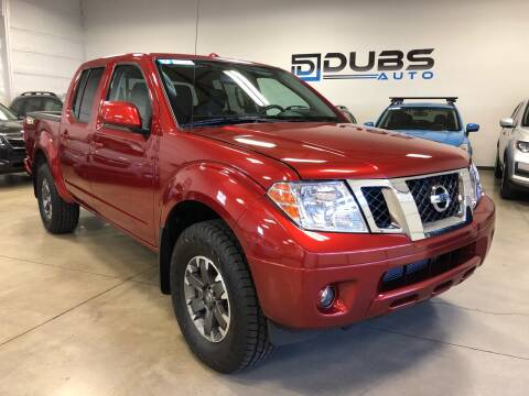 2017 Nissan Frontier for sale at DUBS AUTO LLC in Clearfield UT