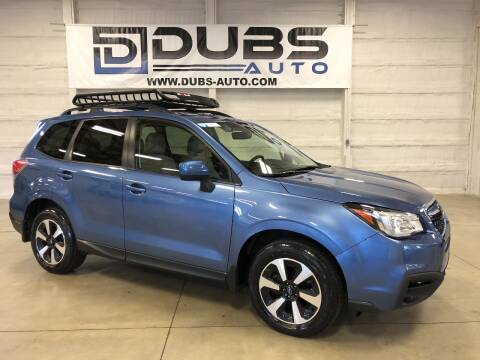 2017 Subaru Forester for sale at DUBS AUTO LLC in Clearfield UT