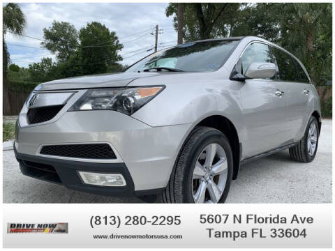 2012 Acura MDX for sale at Drive Now Motors USA in Tampa FL