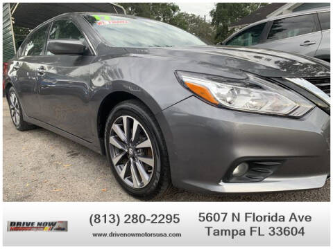 2017 Nissan Altima for sale at Drive Now Motors USA in Tampa FL