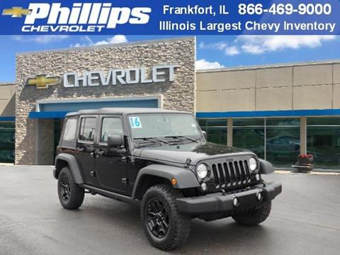 2016 Jeep Wrangler Unlimited for sale in Frankfort, IL
