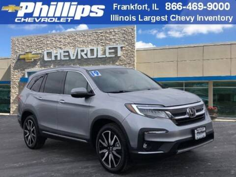 2019 Honda Pilot Touring-7P for sale at PHILLIPS CHEVROLET INC in Frankfort IL