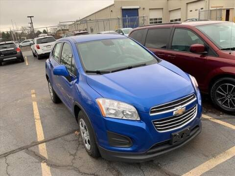 2016 Chevrolet Trax for sale at PHILLIPS CHEVROLET INC in Frankfort IL