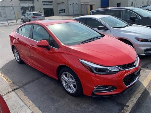 2018 Chevrolet Cruze LT Auto for sale at PHILLIPS CHEVROLET INC in Frankfort IL