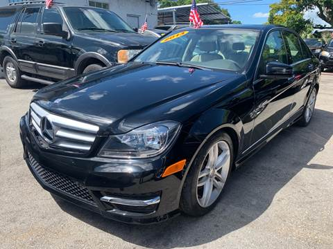 2013 Mercedes-Benz C-Class for sale in West Park, FL