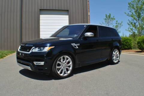 2016 Land Rover Range Rover Sport for sale at Euro Prestige Imports llc. in Indian Trail NC