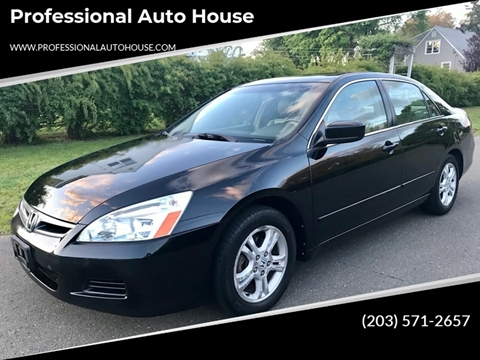 2007 Honda Accord for sale in Bridgeport, CT