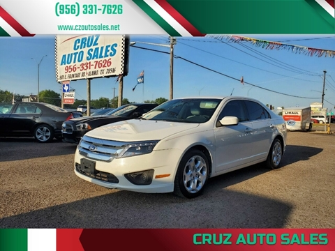 2010 Ford Fusion for sale in Alamo, TX