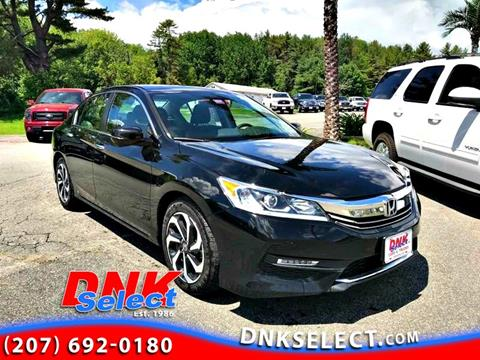 2016 Honda Accord for sale in Farmingdale, ME