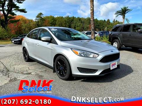 2015 Ford Focus for sale in Farmingdale, ME