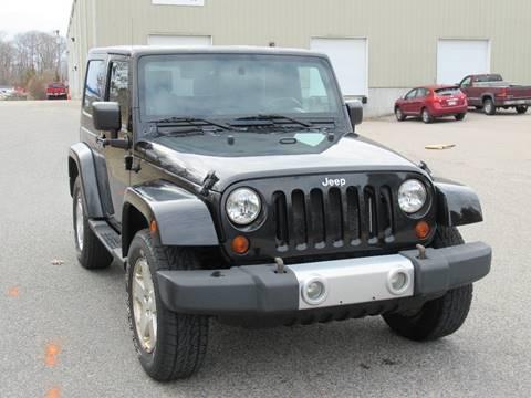 2009 Jeep Wrangler Sahara for sale at GSR Auto Sales LLC in Braintree MA
