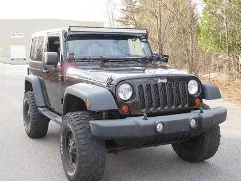 2012 Jeep Wrangler Sport for sale at GSR Auto Sales LLC in Braintree MA
